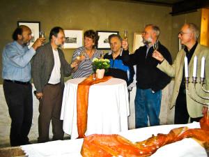 Ausstellungseröffnung im Haus Conrath im Mai 2006